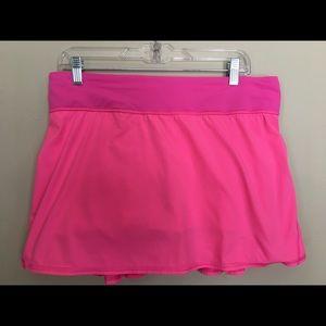Lululemon Bright Pink Skort